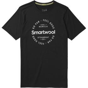 Smartwool Merino Sport 150 Go Far Feel Good Tee Men Black